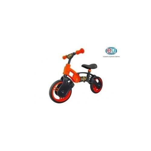 Bicicletta Senza Pedali, Rossa