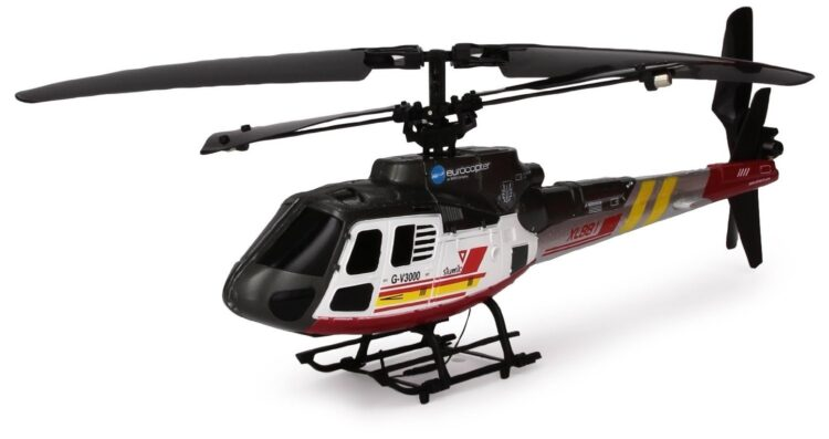 Eurocopter Ecureuil AS350 Elicottero R/C 3 Canali