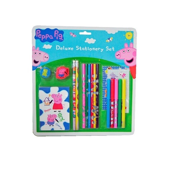 Peppa Pig - Blister Cartoleria Deluxe
