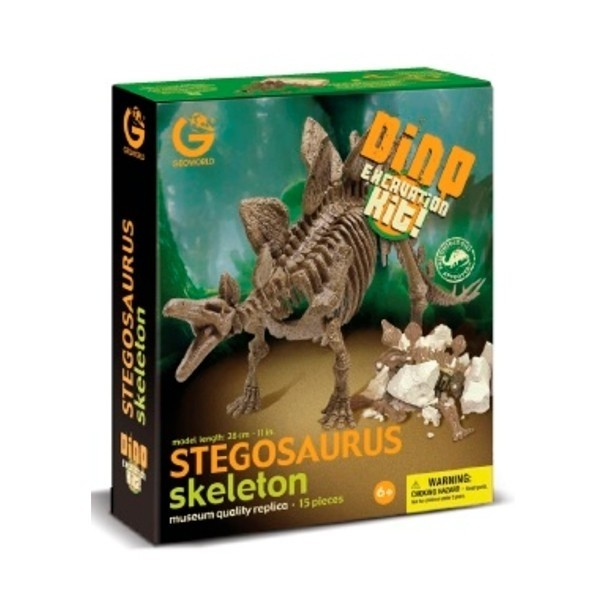 Dino Excavation Kit - Stegosauro Scheletro