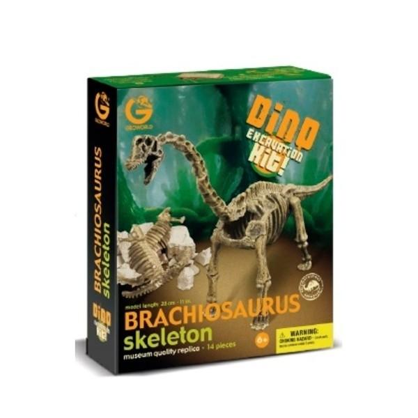 Dino Excavation Kit - Brachiosauro Scheletro