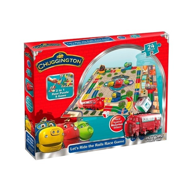 Chuggington Puzzle race'n'chase