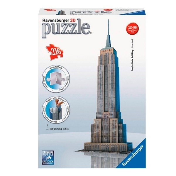 Puzzle 3D Building - The Empire State Building
