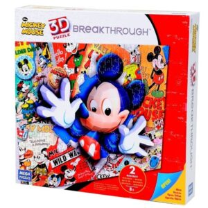 Breakthrough Puzzle Mickey Mouse - 200 Pezzi, Livello 2