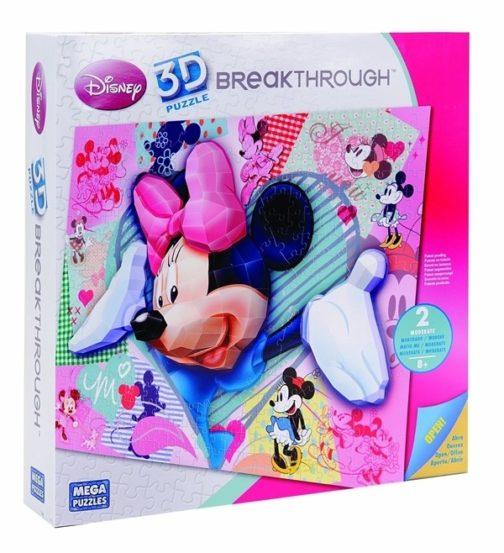 Puzzle Minnie 3D - Pezzi 200, Livello 2