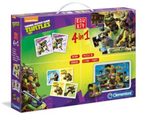 Clementoni - Edukit 4 in 1 Ninja Turtles