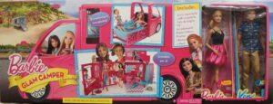 Barbie - Glam Camper con Bambole