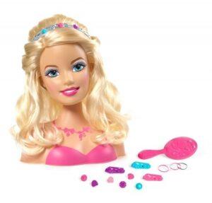Testa da acconciare Barbie Glam Party