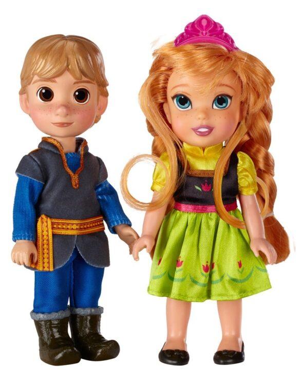 Disney Frozen - Anna e Kristoff minidolls