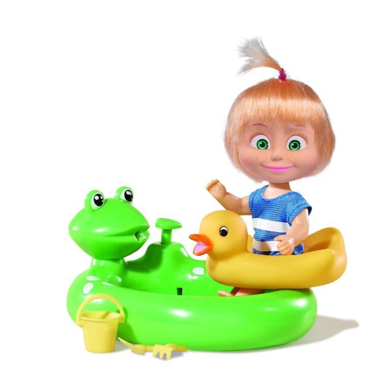Masha con piscinetta - Masha e Orso