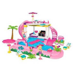 Barbie Build'n Splash Pool Party