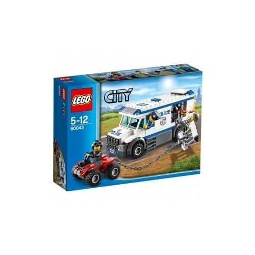 LEGO City Police 60043 - Cellulare della Polizia