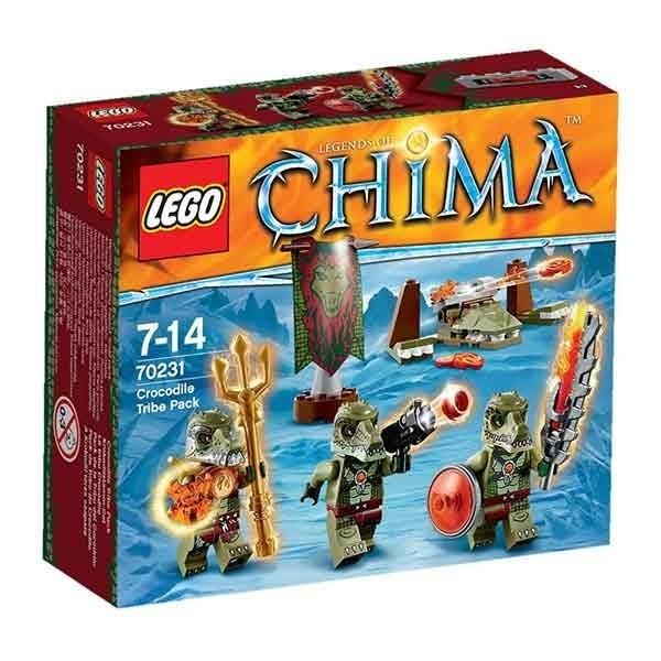 LEGO Chima - Tribù dei Coccodrilli