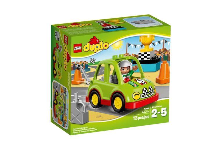 LEGO Duplo Town 10589 - Auto da Rally