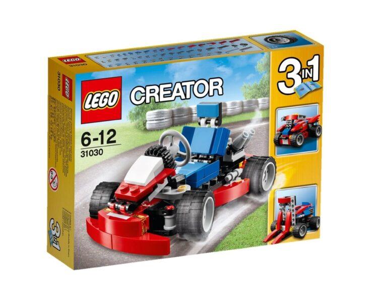 LEGO Creator 31030 - Go-Kart, Rosso