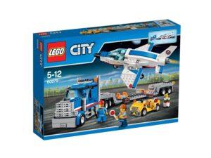 LEGO City Space Port - Trasportatore di Jet