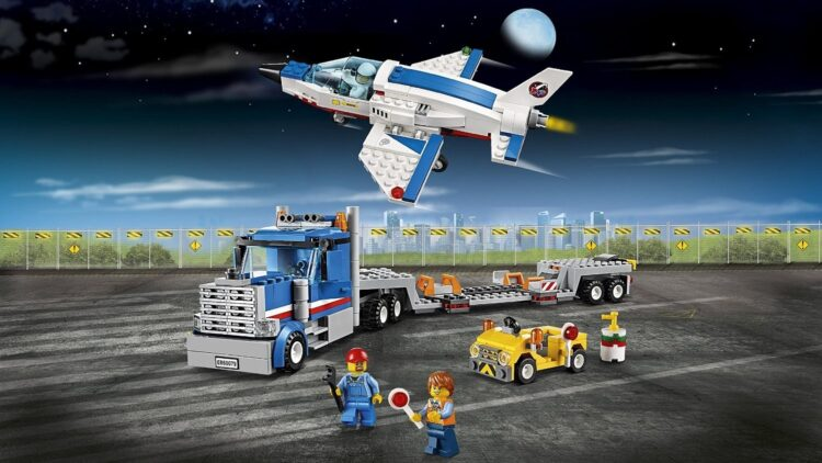 LEGO City Space Port - Trasportatore di Jet