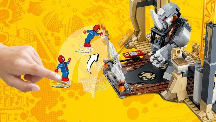 LEGO Super Heroes - L'Alleanza Criminale di Rhino e L'Uomo S