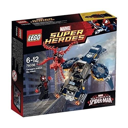 LEGO Super Heroes - Carnage e L'Attacco Aereo Shield