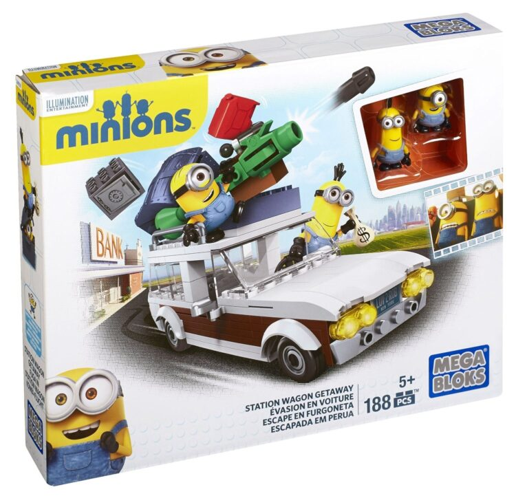 Minions Station Wagon Mega Bloks