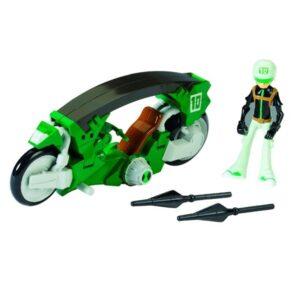 Ben 10 - Omniverse Moto trasformabile con 1 personaggio