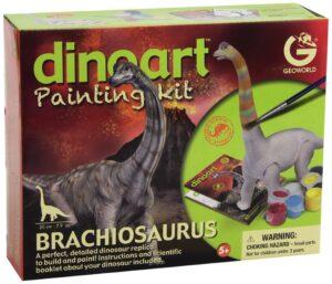Geoworld - Dinoart Painting Kit Brachiosaurus