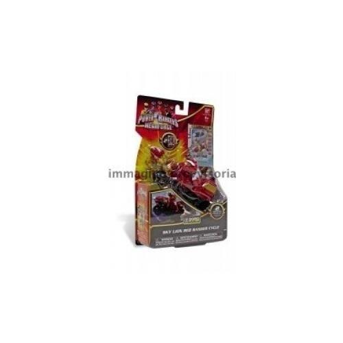 Power Rangers - Megaforce - Zord Moto Con Personaggio
