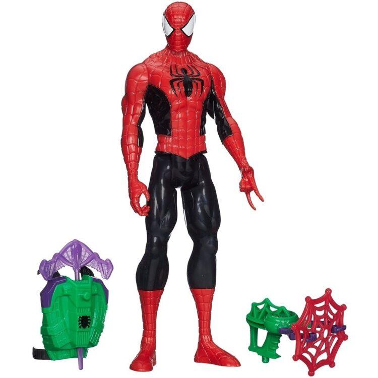Hasbro - SpiderMan 30 cm con Accessorio