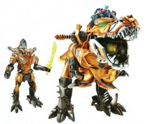 Transformers - MV4 RID Grimlock Stomp and Chomp