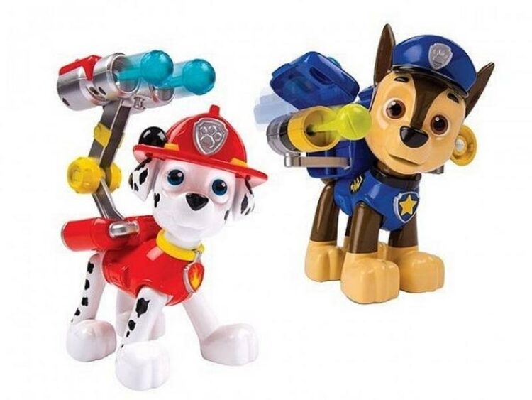 Paw Patrol Jumbo Action Pack Pup & Badge