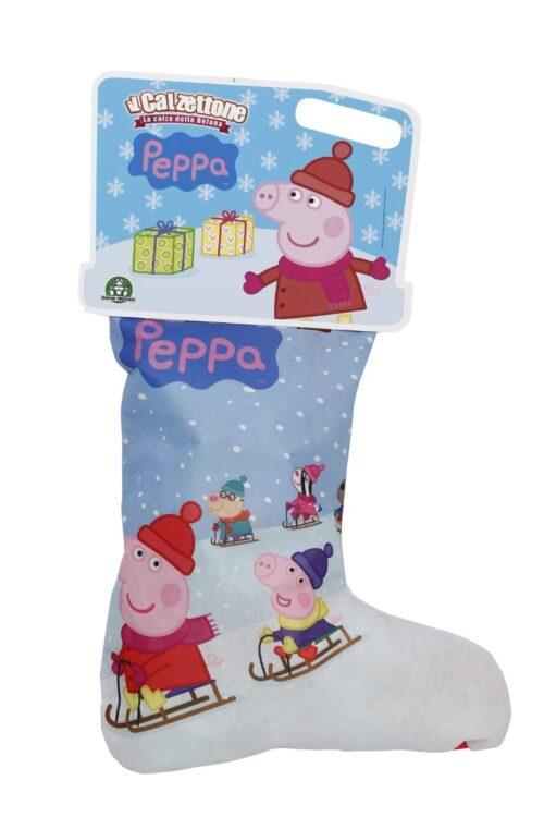 Giochi Preziosi - Il Calzettone di Peppa Pig, L'Originale Calza della Befana