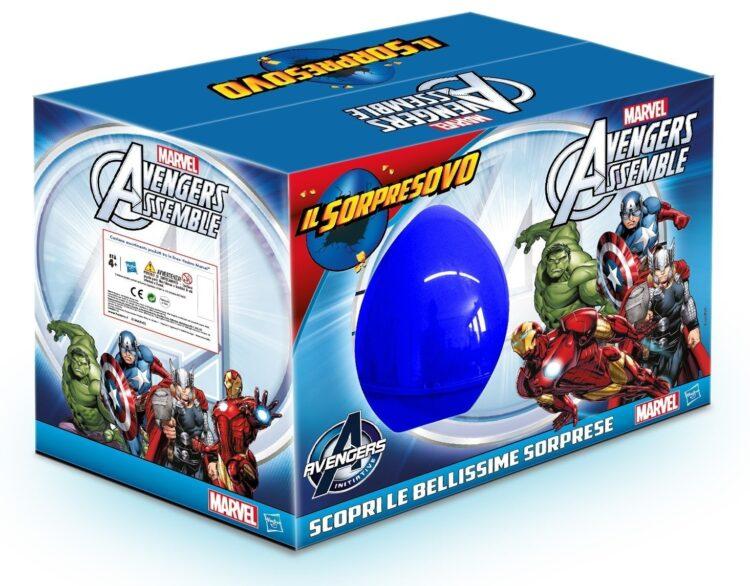 Sorpresovo Pasqua 2016 Avengers