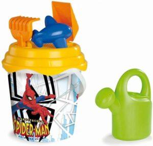 Super secchiello Spider-man cm 20 con accessori