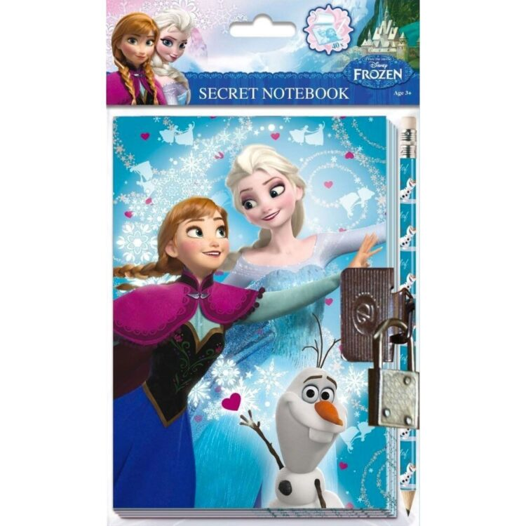 Diario segreto con matita Disney Frozen