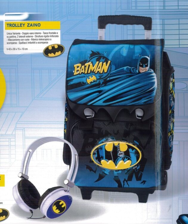 Zaino trolley estensibile Batman