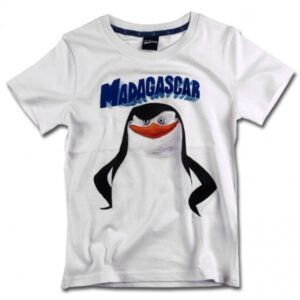 T-shirt mezza manica I Pinguini di Madagascar