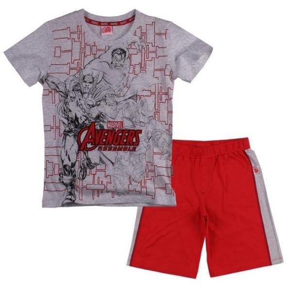 Completo T-shirt e pantaloncino Marvel Avengers