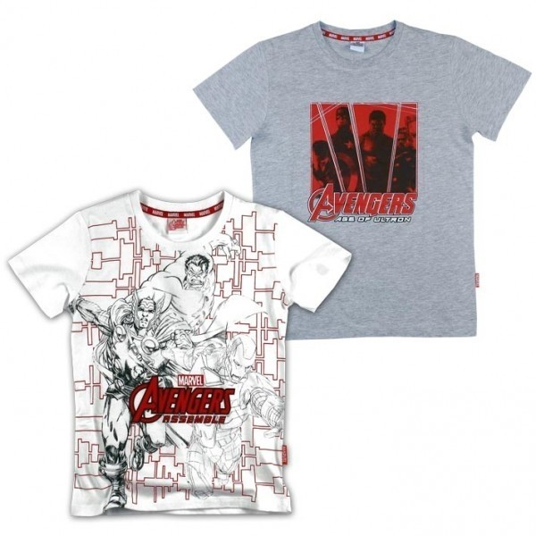 T-shirt manica corta Marvel Avengers