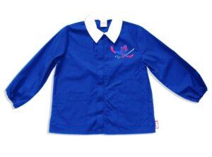 Grembiule casacca elementari Spiderman Blu Royal