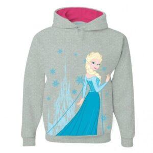 Felpa Bimba Elsa Disney Frozen