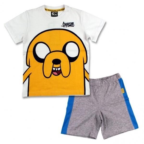 Completo T-shirt e pantaloncino Adventure Time Jake