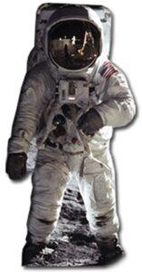 Buzz Aldrin, Astronaut sagoma 182 cm H