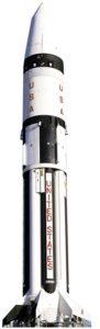 Rocket (Real Space Craft) sagoma 186 cm H