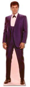 Elvis 1960's Blue Suit sagoma 180 cm H