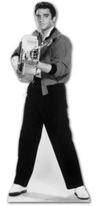 Elvis Shooting with Guitar sagoma 180 cm H
