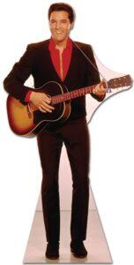 Elvis Red Shirt and Guitar sagoma 180 cm H