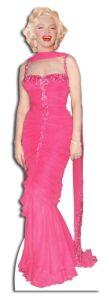 Marilyn Monroe 'Pink Evening Gown' sagoma 181 cm H