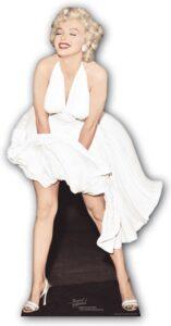Marilyn Monroe 'White Dress Blowing Up' sagoma 157 cm H