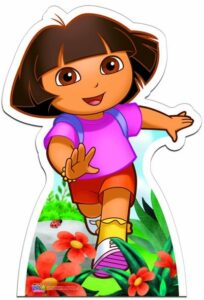 Dora the Explorer (Star Mini Cutout) sagoma 85 X 59 cm
