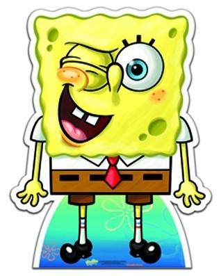 SpongeBob Squarepants 'Wink' (Star Mini cut-out) sagoma 79 X 60 cm